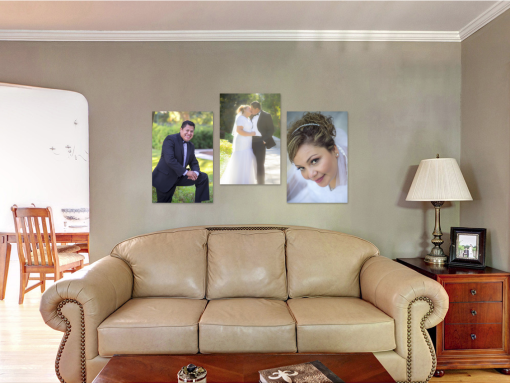 living room photo art