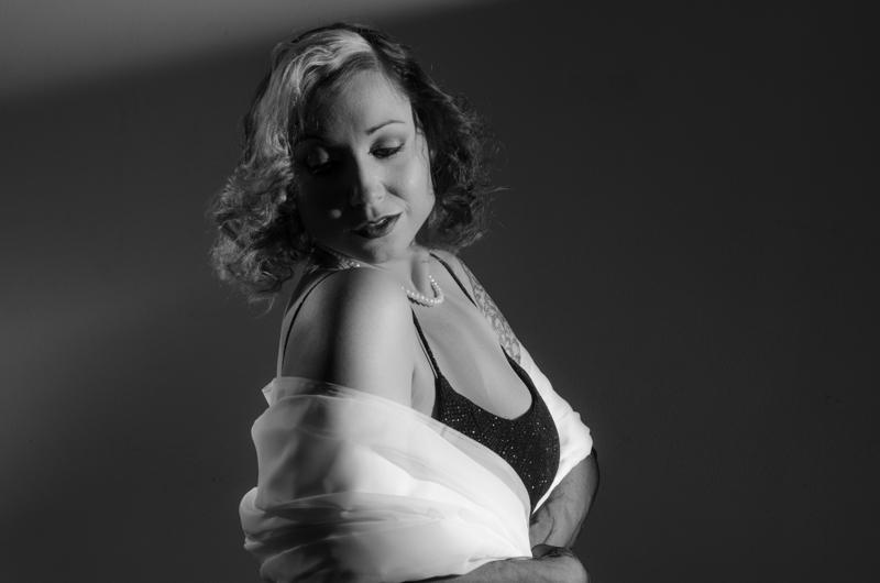 black & white old hollywood photo